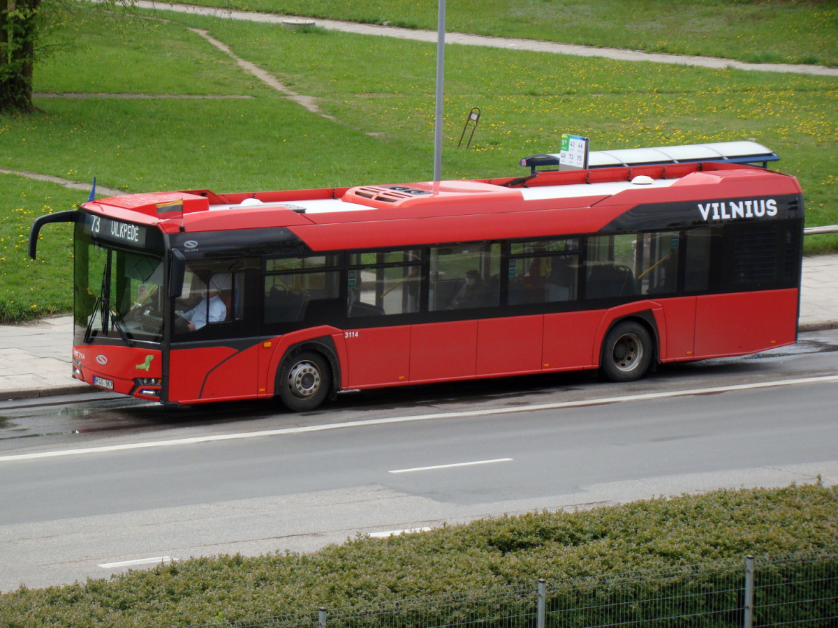 Вильнюс. Solaris Urbino IV 12 KGG 967