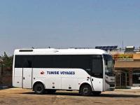 Эль-Джем. Туристический автобус Tunisie Voyages