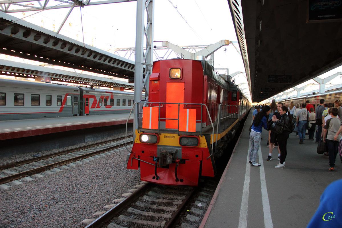 Санкт-Петербург. ТЭМ18В-022