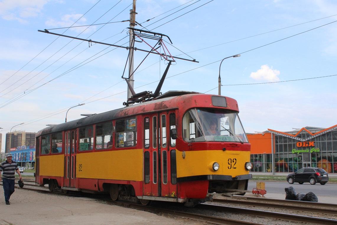 Волжский. Tatra T3SU №92