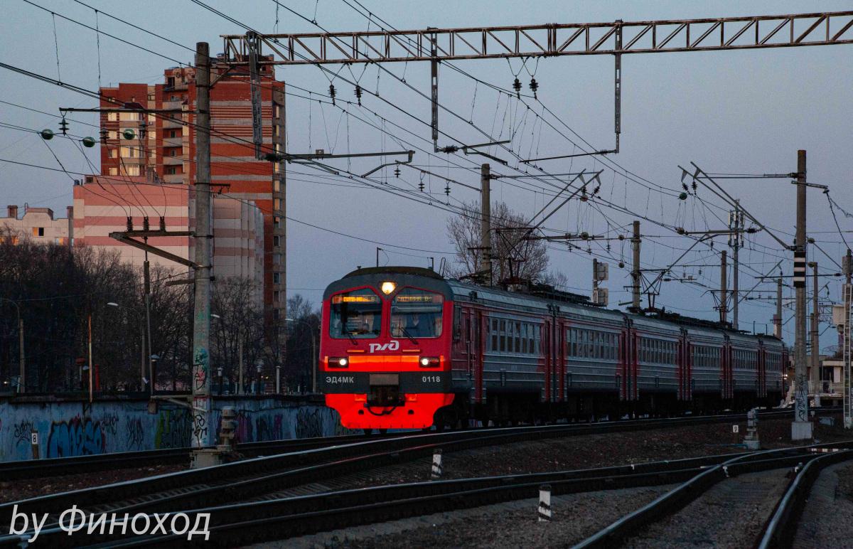 Санкт-Петербург. ЭД4МК-0118