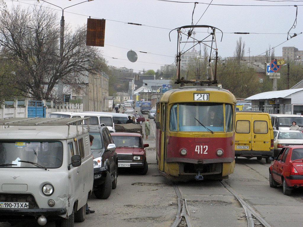 Харьков. Tatra T3SU №412