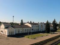 Великие Луки. Вокзал станции Великие Луки