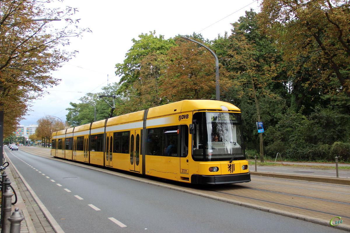 Дрезден. Bombardier NGT8DD №2721