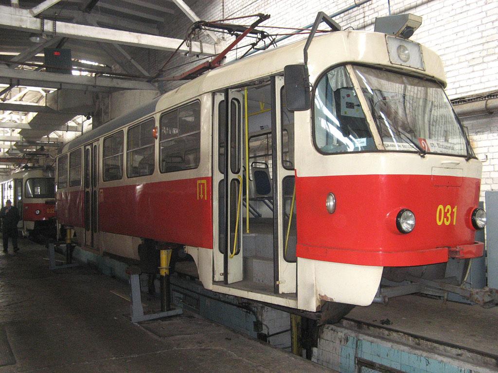 Кривой Рог. Tatra T3R.P №031, Tatra T3R.P №032