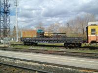 Бугульма. Платформа с классным вагоном на станции Бугульма