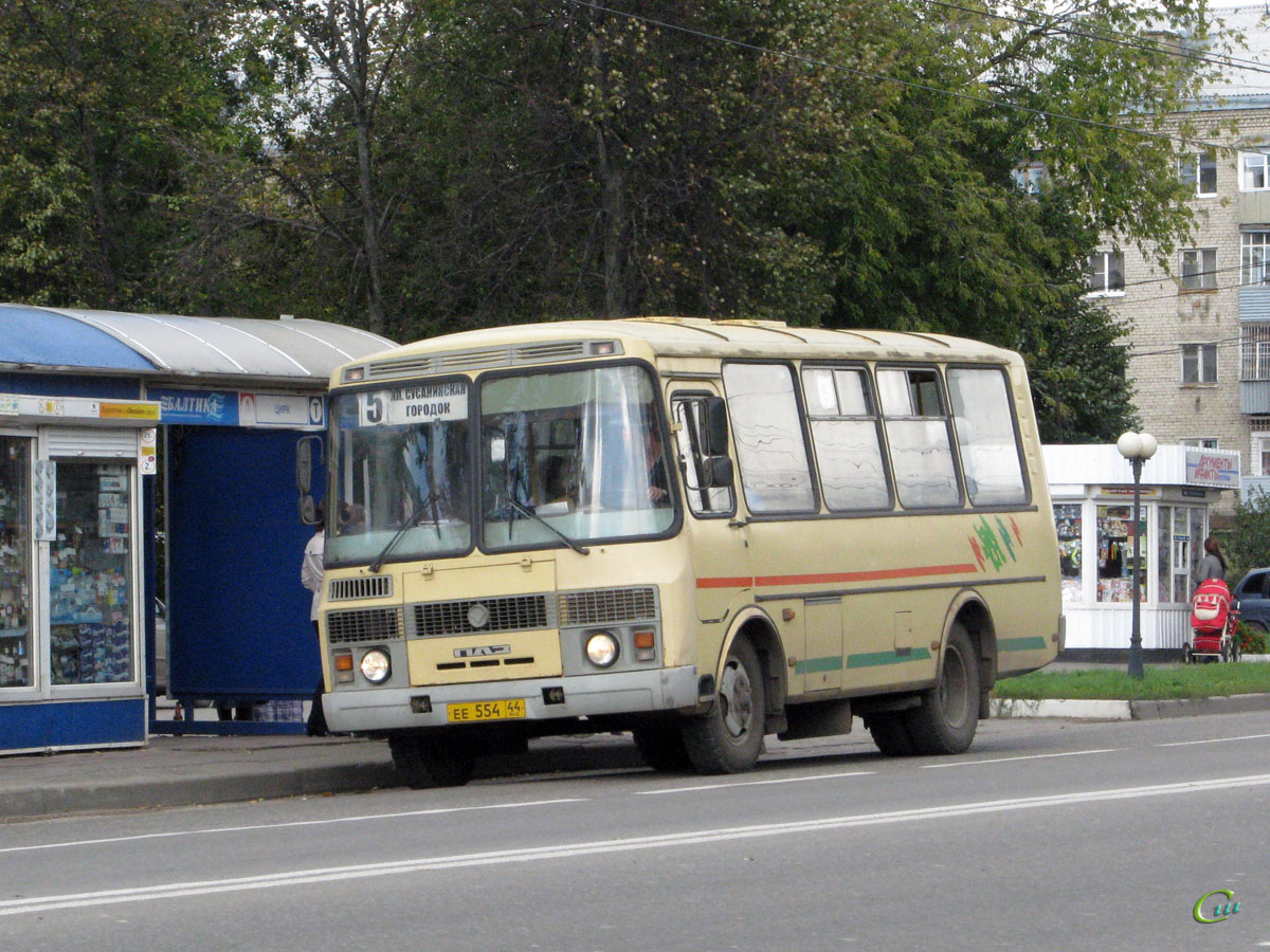 Кострома. ПАЗ-32054 ее554