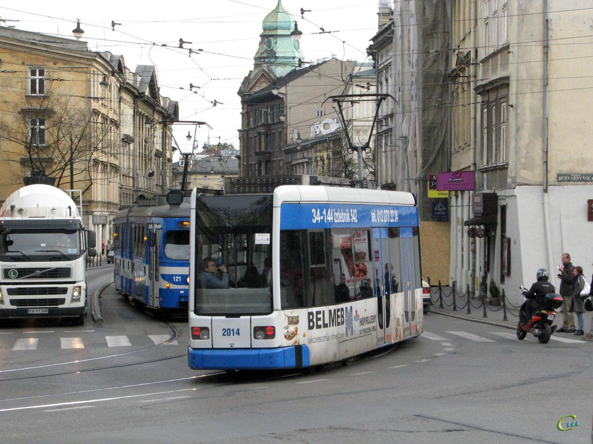 Краков. Bombardier NGT6 №2014