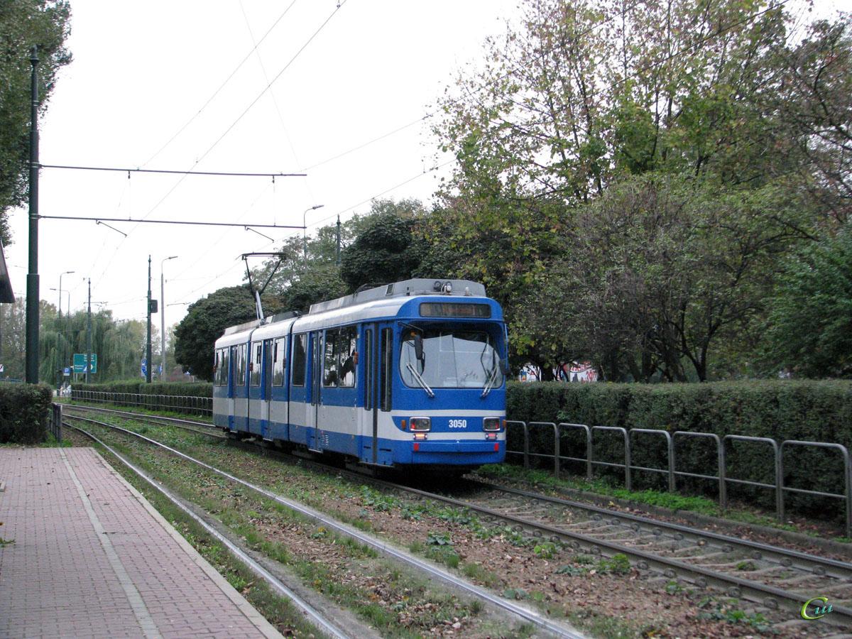 Краков. Duewag GT8S №3050