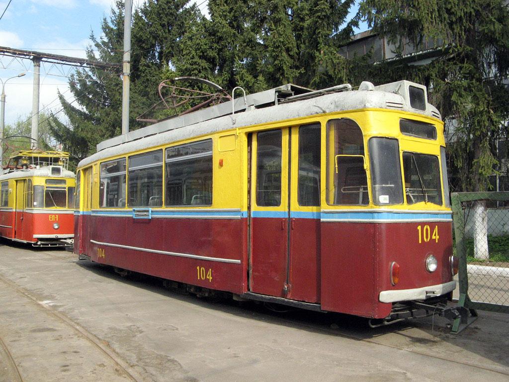 Винница. Gotha T57 №104, Gotha T59E №ЕЛ-1