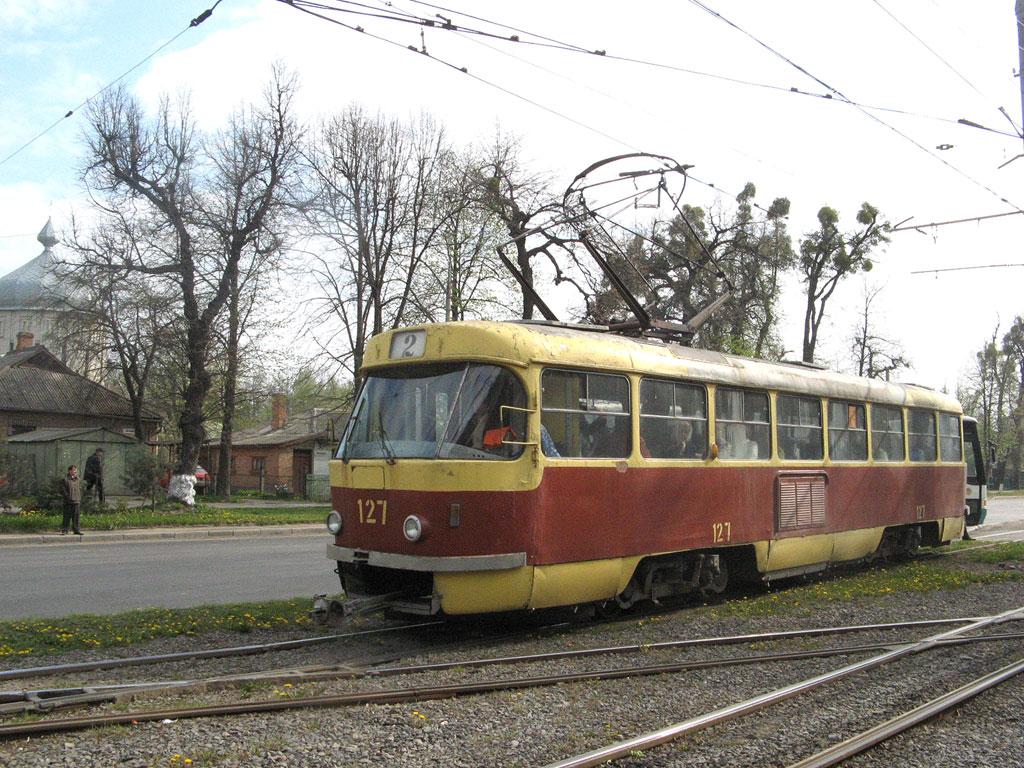 Винница. Tatra T4SU №127