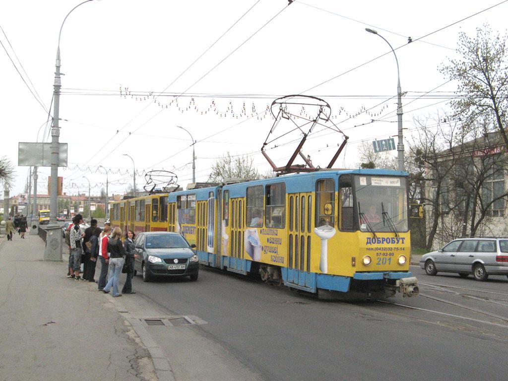 Винница. Tatra KT4SU №150, Tatra KT4SU №201