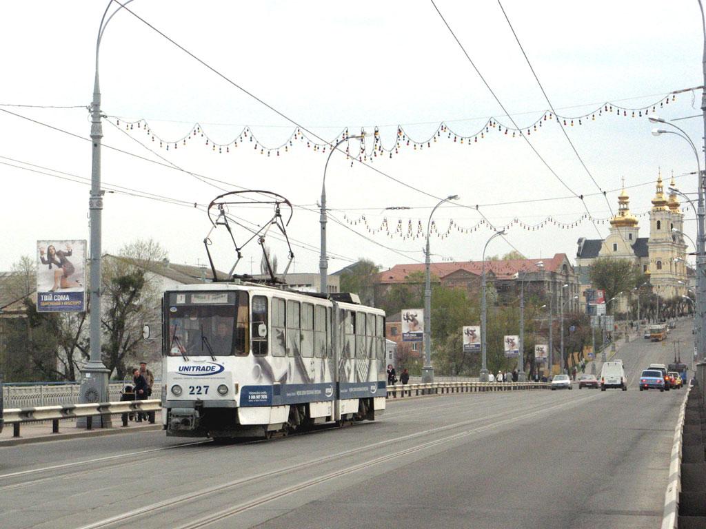 Винница. Tatra KT4SU №227