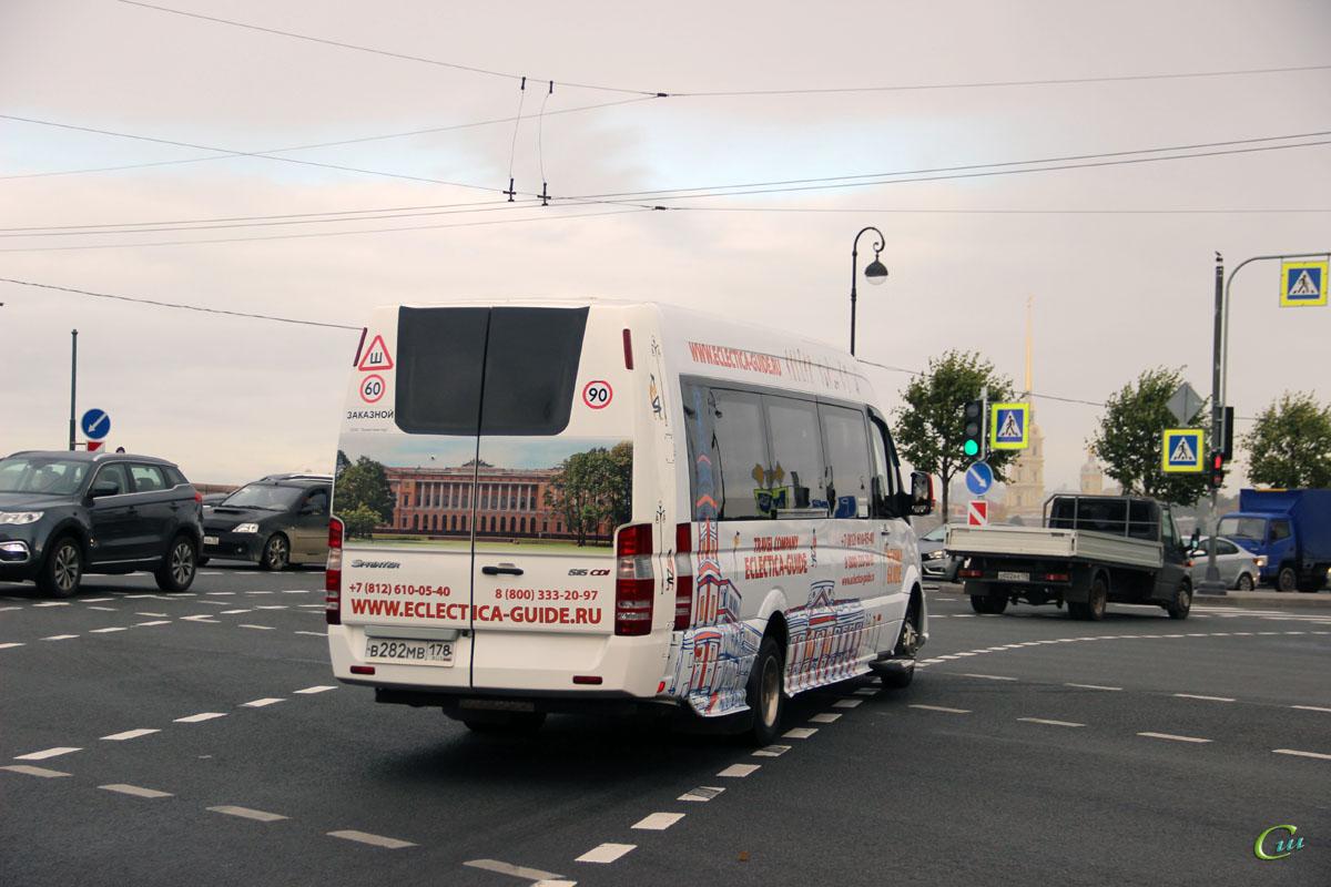 Санкт-Петербург. Луидор-2236 (Mercedes-Benz Sprinter) в282мв