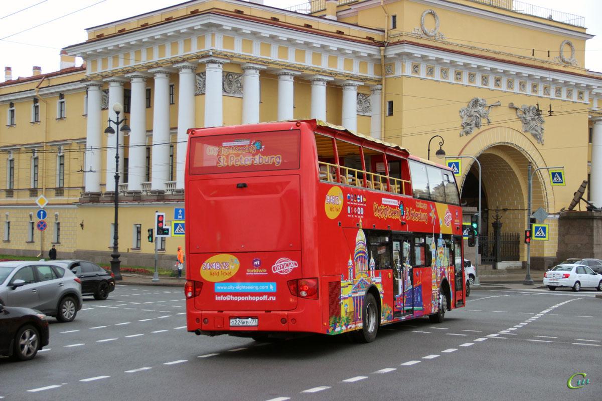Санкт-Петербург. Higer KLQ6109GS о224кв