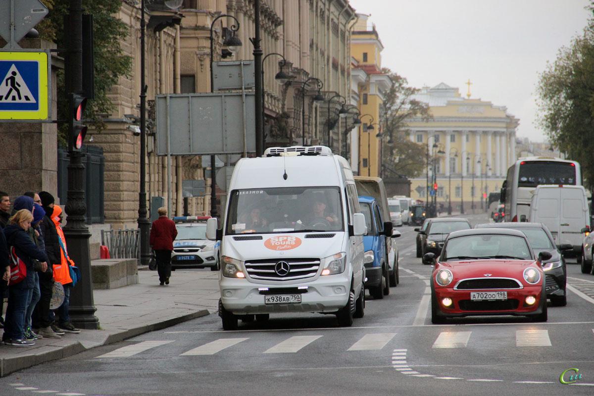 Санкт-Петербург. Луидор-2236 (Mercedes-Benz Sprinter) к938ав