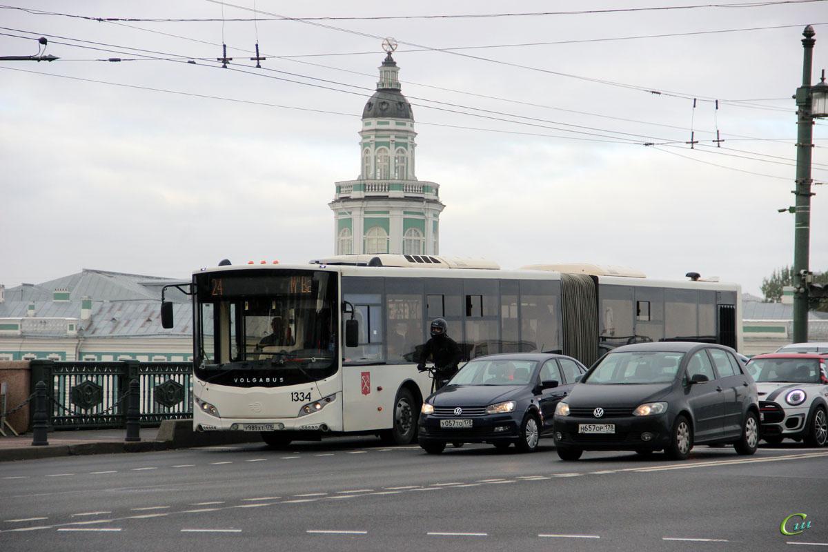 Санкт-Петербург. Volgabus-6271.05 у989хт