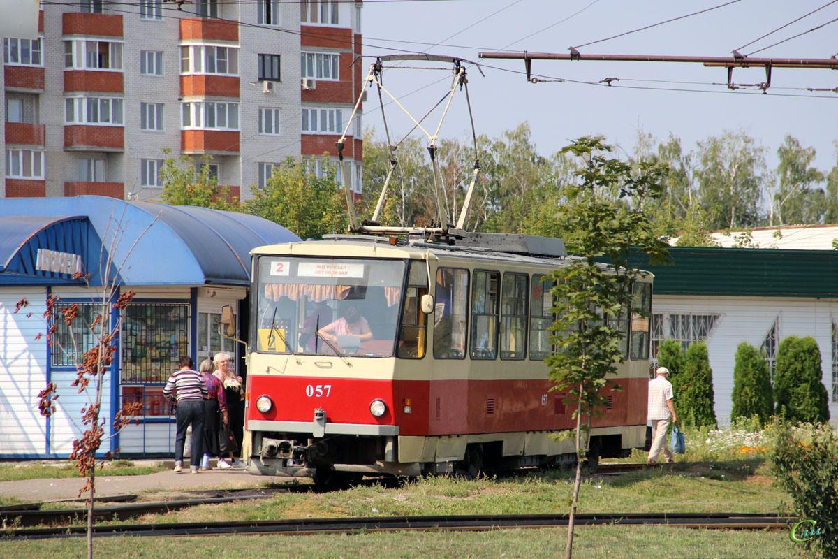 Курск. Tatra T6B5 (Tatra T3M) №057