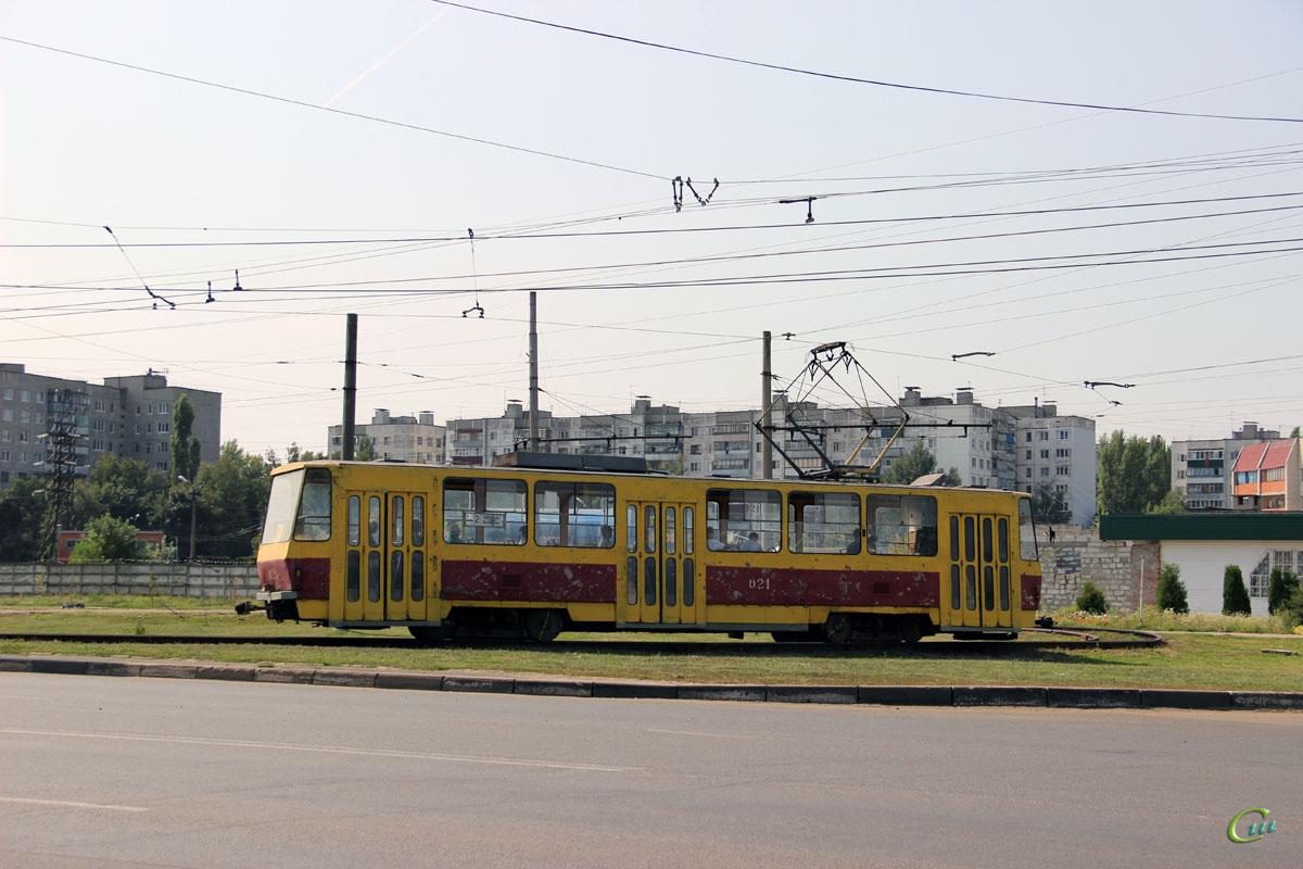 Курск. Tatra T6B5 (Tatra T3M) №021