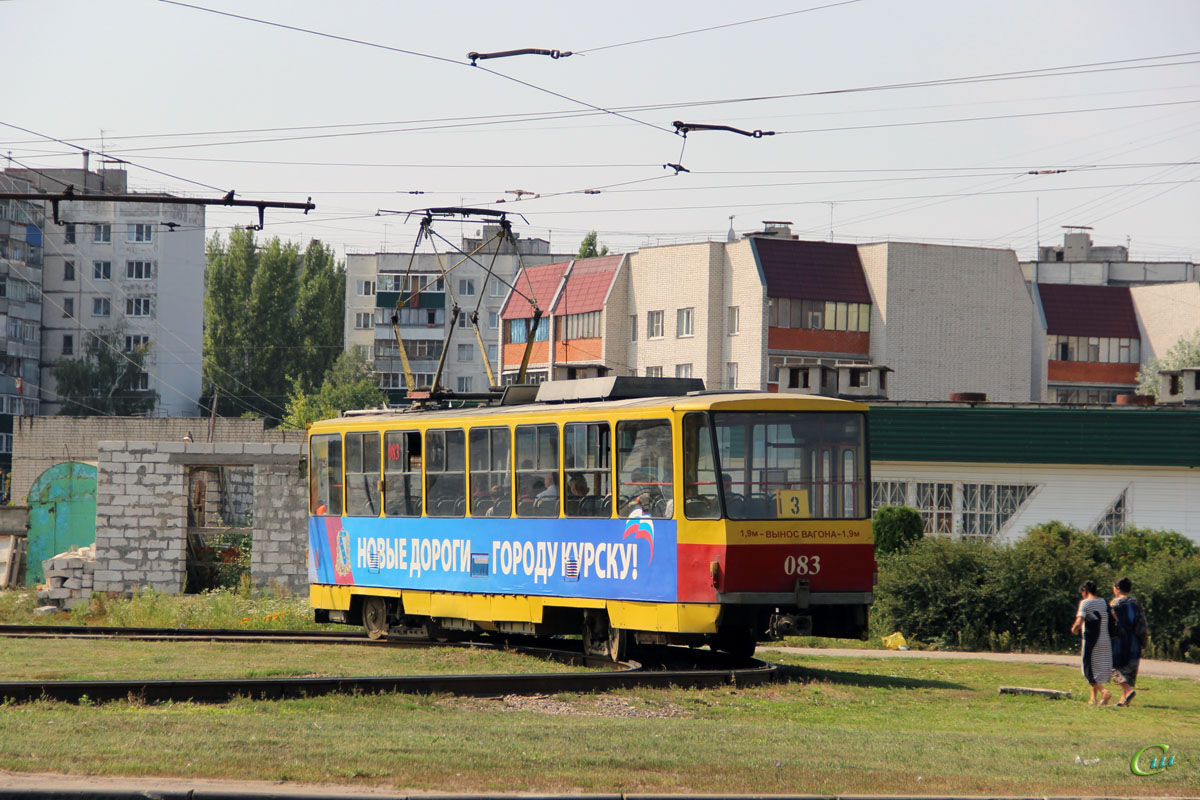 Курск. Tatra T6B5 (Tatra T3M) №083