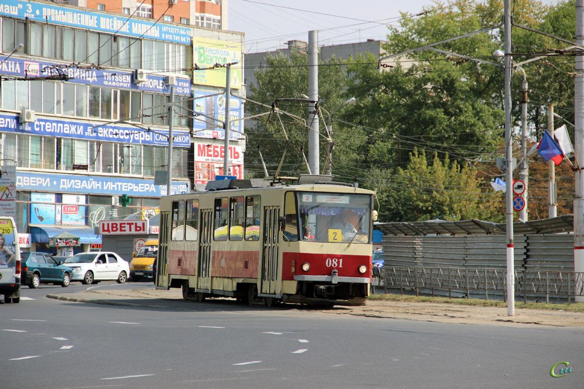 Курск. Tatra T6B5 (Tatra T3M) №081