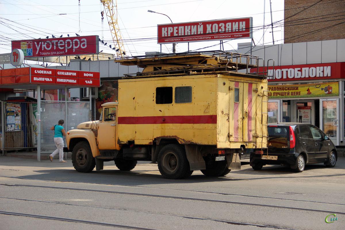 Курск. Автомобиль ЗиЛ (е451тх 46) Службы контактной сети