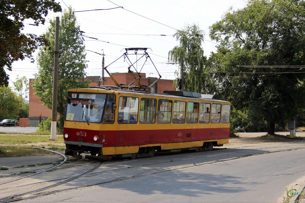 Курск. Tatra T6B5 (Tatra T3M) №053