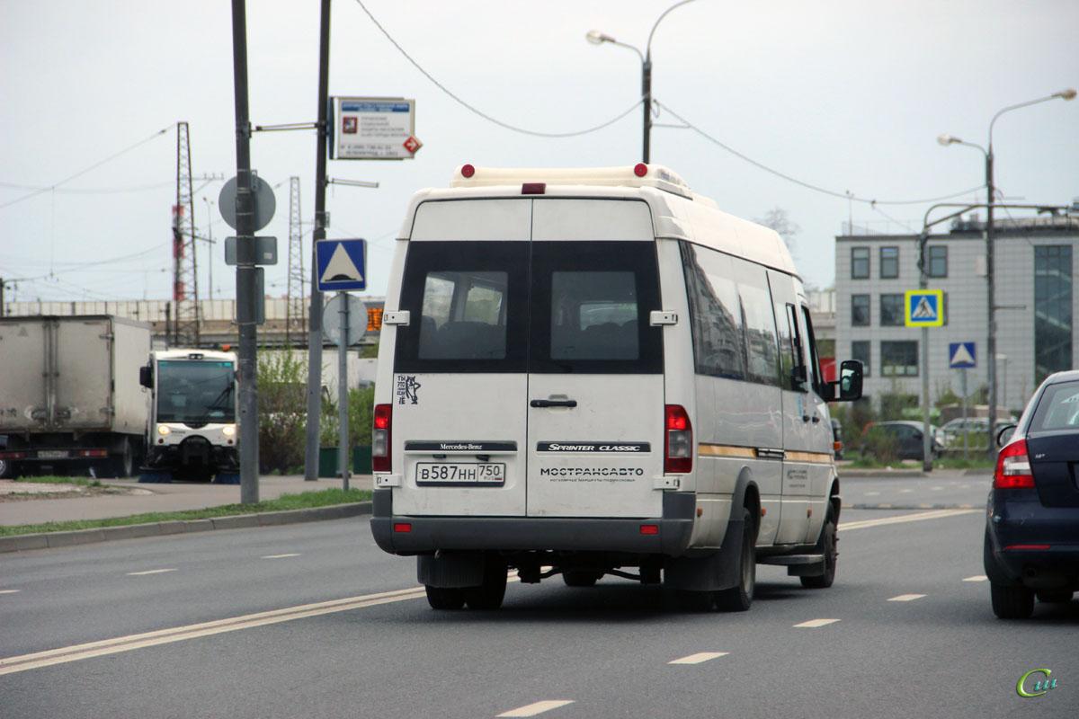Москва. Луидор-2232 (Mercedes-Benz Sprinter) в587нн