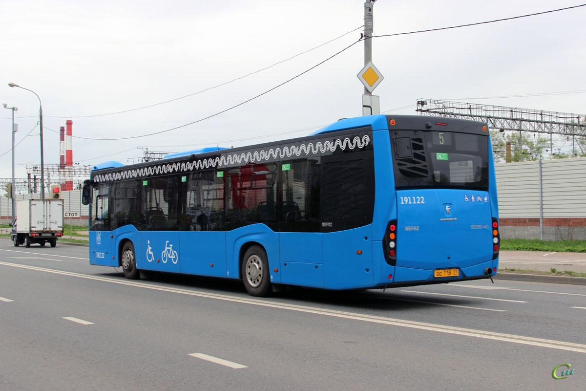 Москва. НефАЗ-5299-40-52 (5299JP) оо718