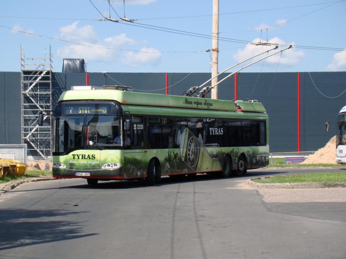 Вильнюс. Solaris Trollino 15 №2687