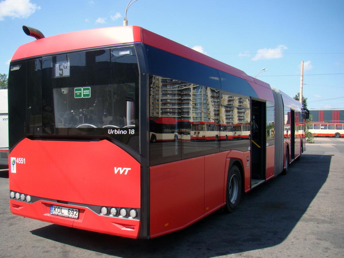 Вильнюс. Solaris Urbino IV 18 KOL 692