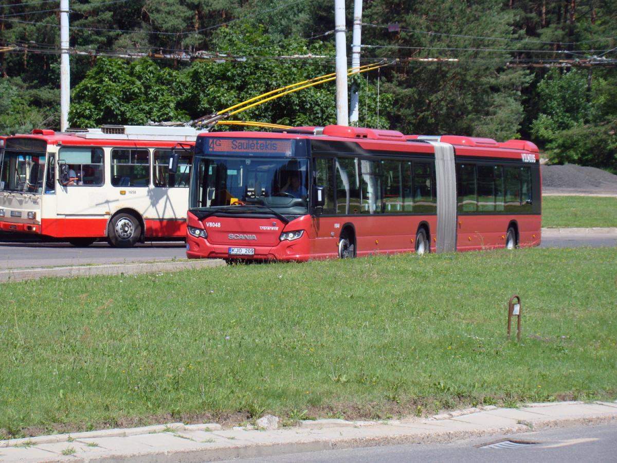 Вильнюс. Scania Citywide LFA KJO 209