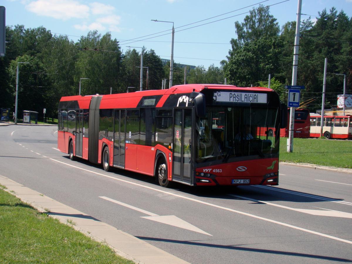 Вильнюс. Solaris Urbino IV 18 KPJ 852