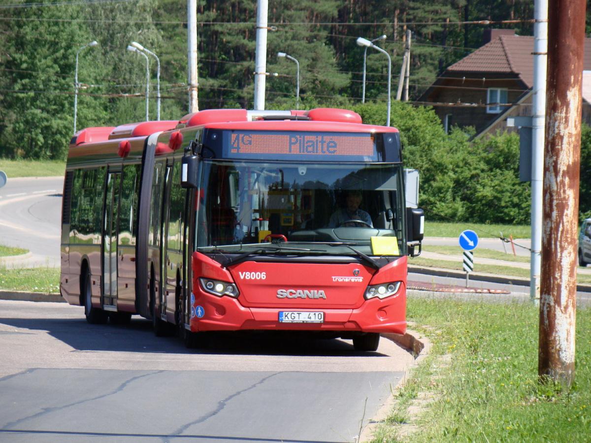 Вильнюс. Scania Citywide LFA KGT 410