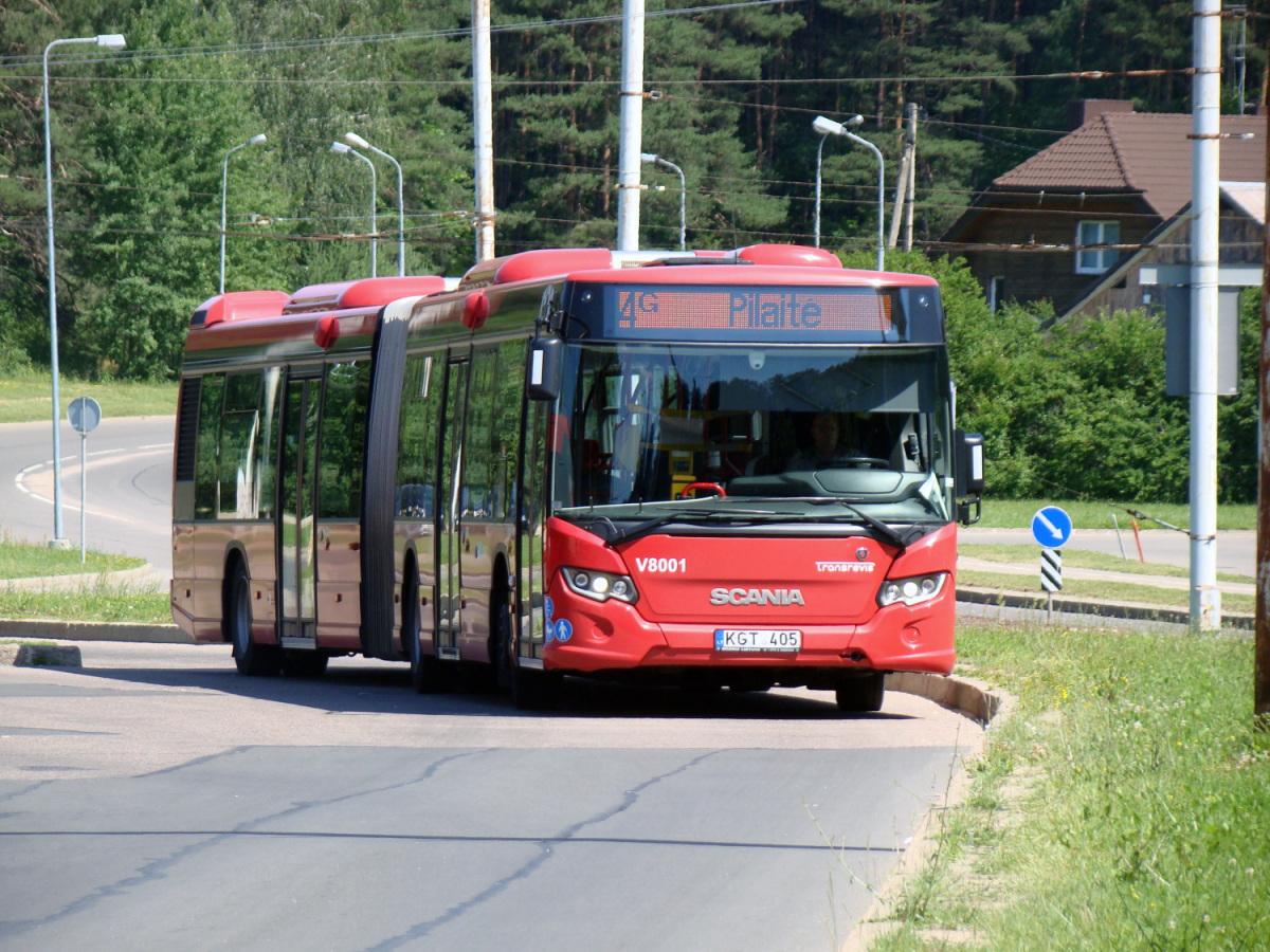 Вильнюс. Scania Citywide LFA KGT 405