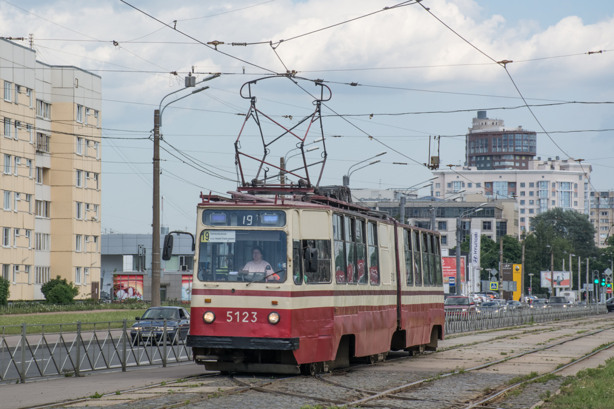 Санкт-Петербург. ЛВС-86К №5123