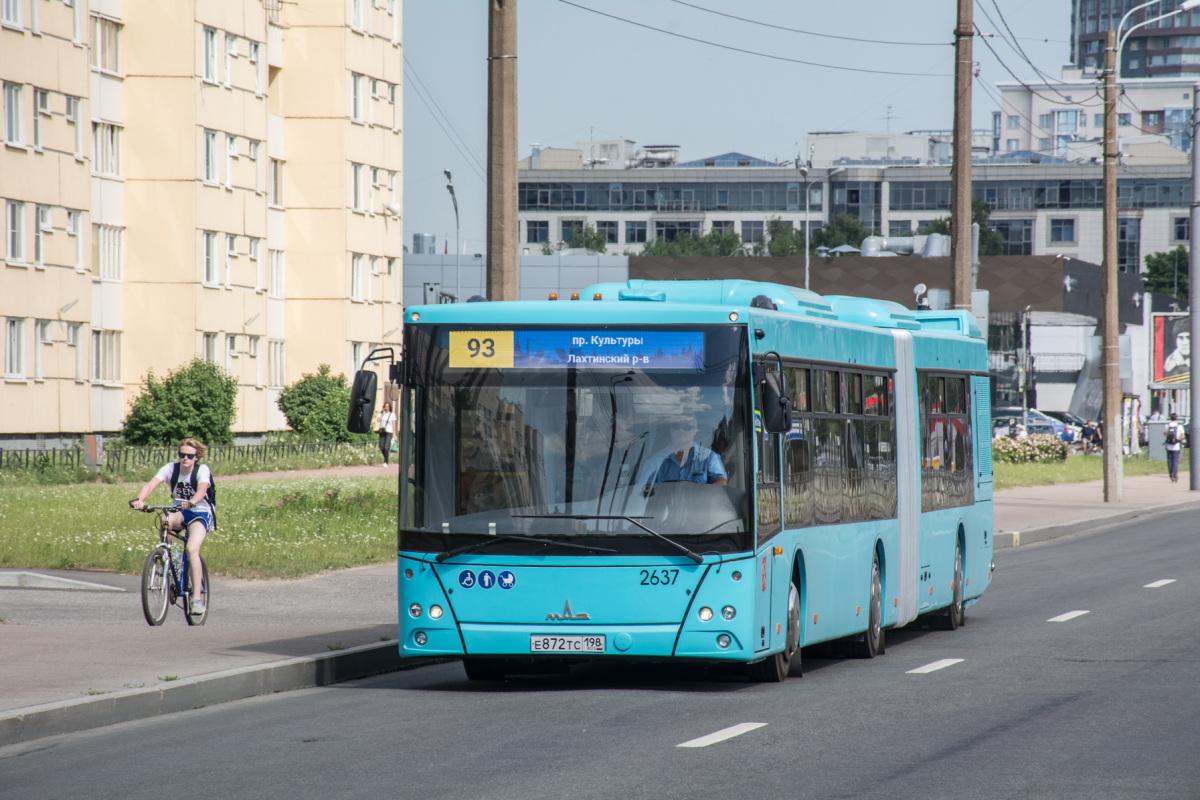 Санкт-Петербург. МАЗ-216.066 е872тс