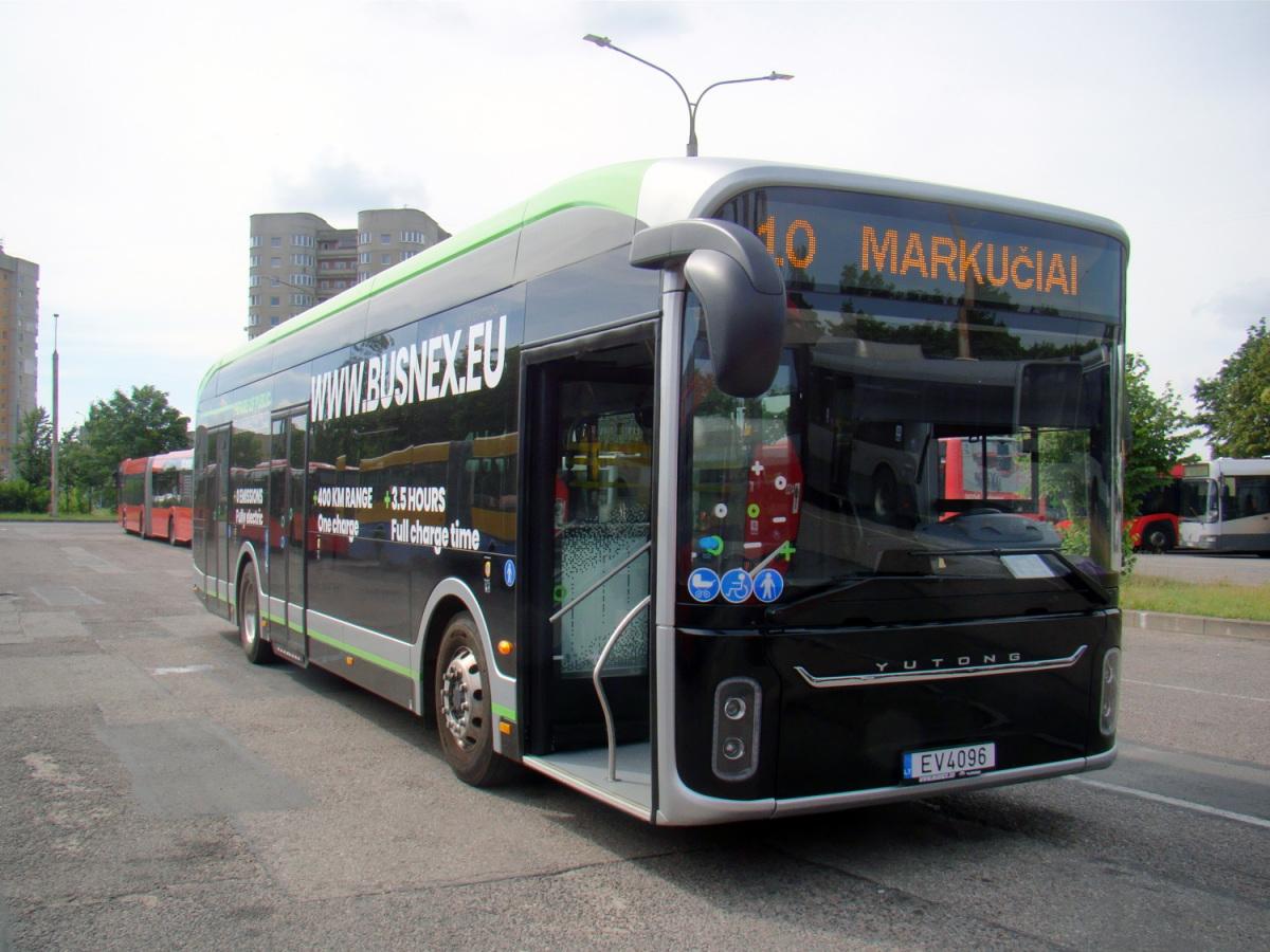 Вильнюс. Yutong U12 EV 4096