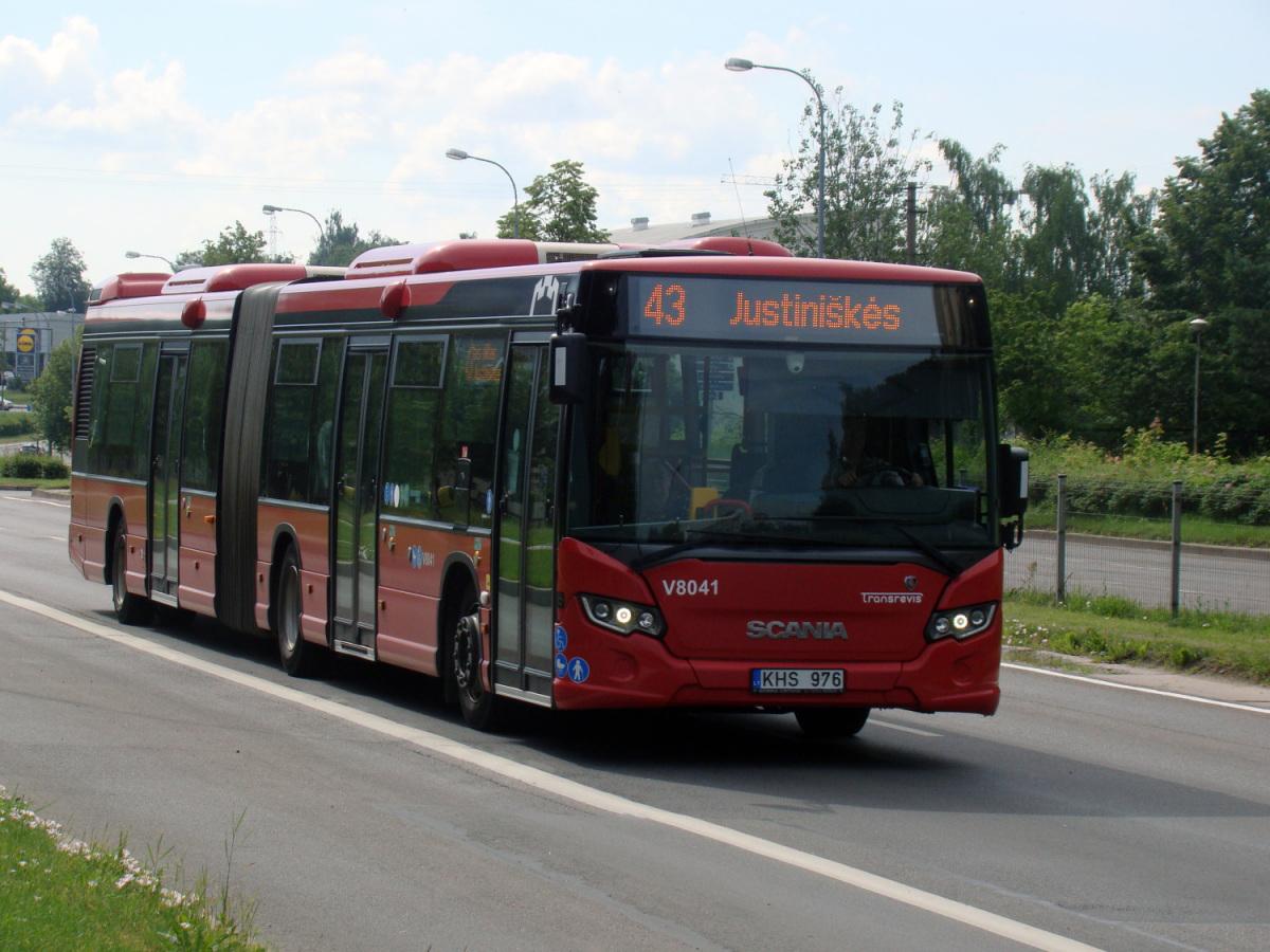 Вильнюс. Scania Citywide LFA KHS 976