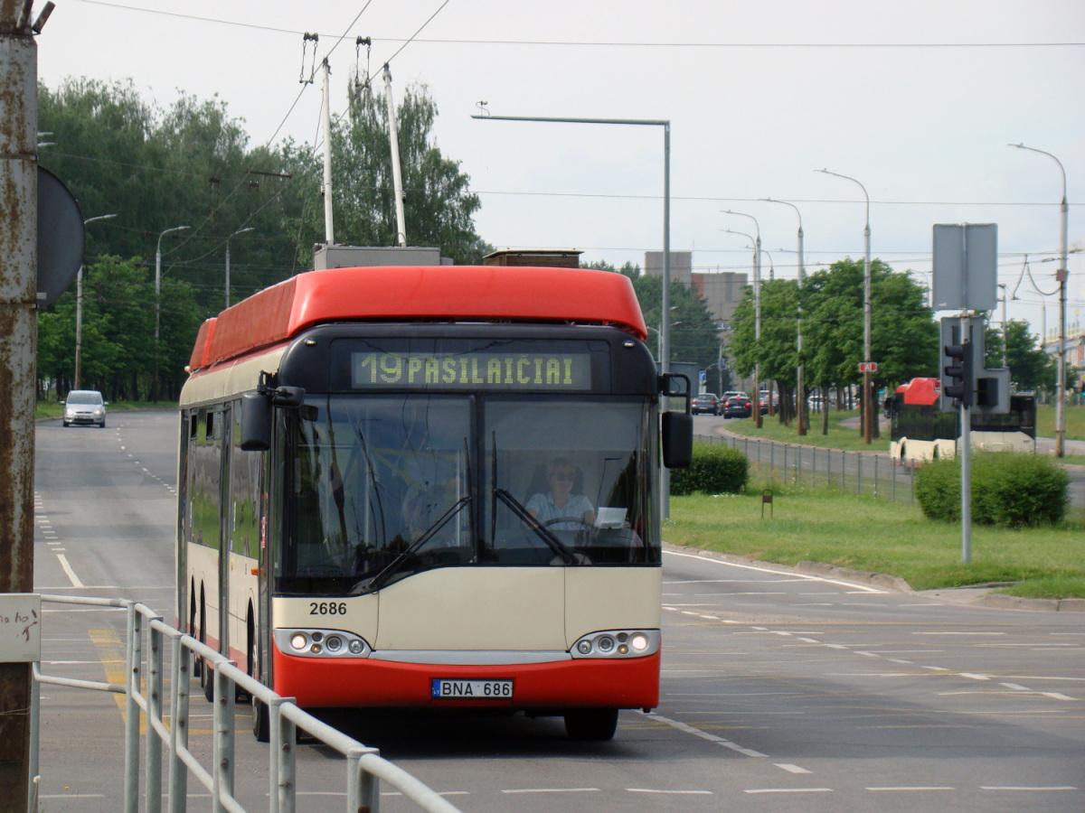 Вильнюс. Solaris Trollino 15 №2686