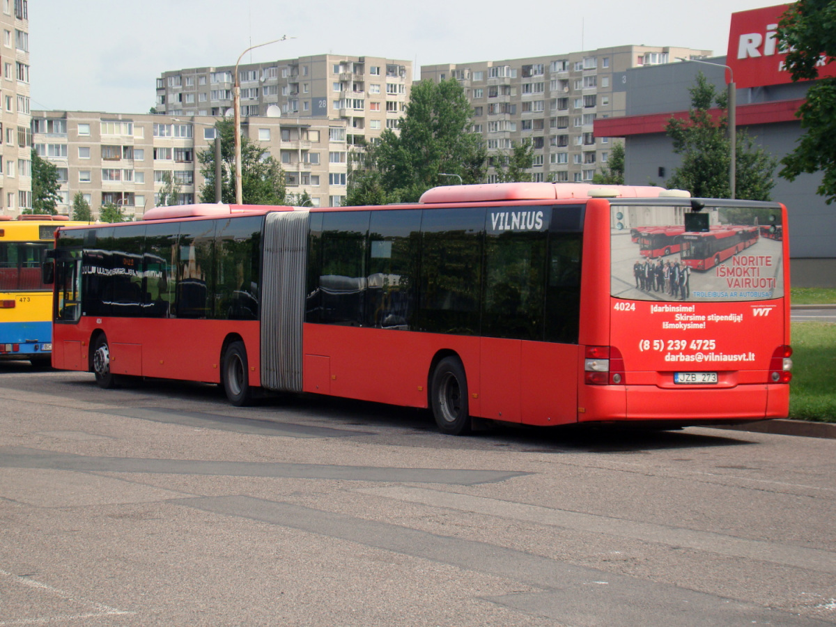 Вильнюс. MAN A23 Lion's City GL NG313 JZB 273