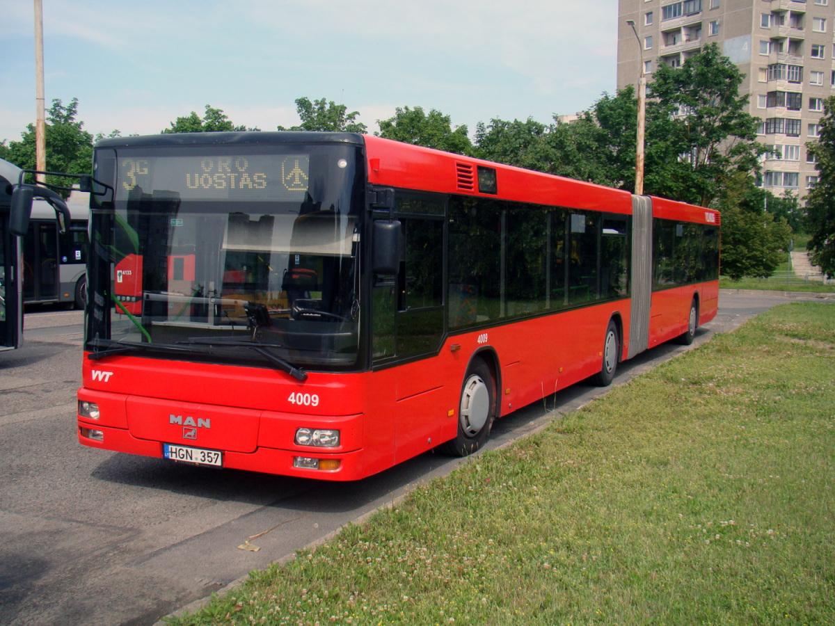 Вильнюс. MAN A23 NG313 HGN 357