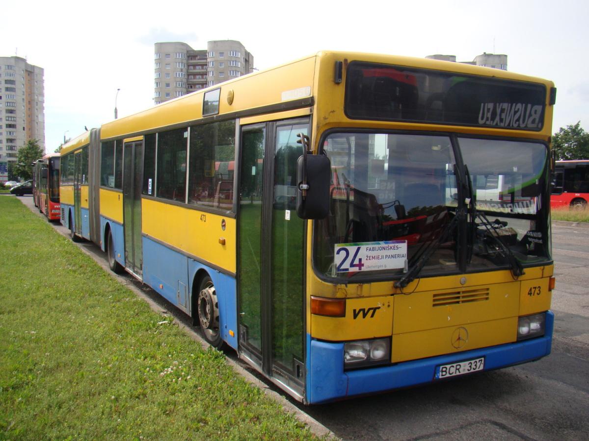 Вильнюс. Mercedes-Benz O405G BCR 337