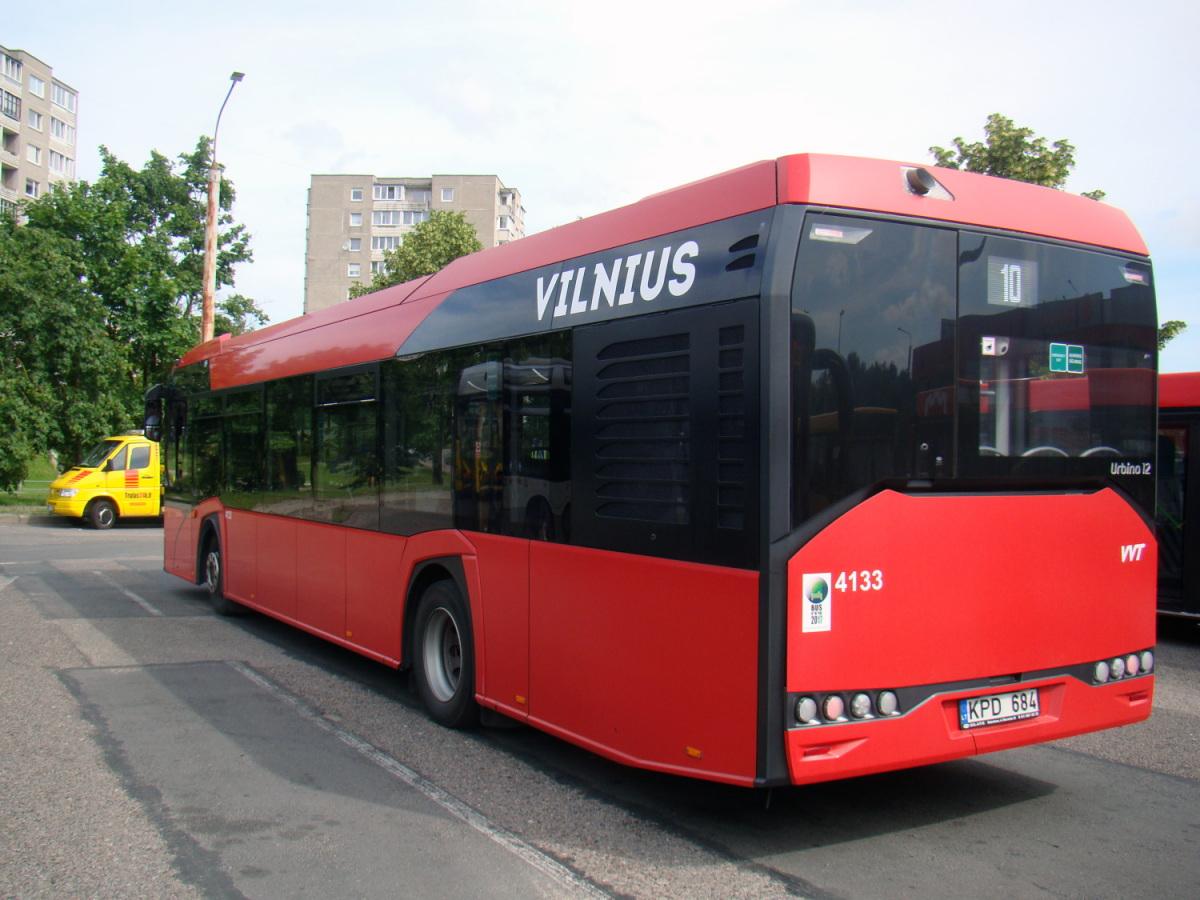 Вильнюс. Solaris Urbino IV 12 KPD 684