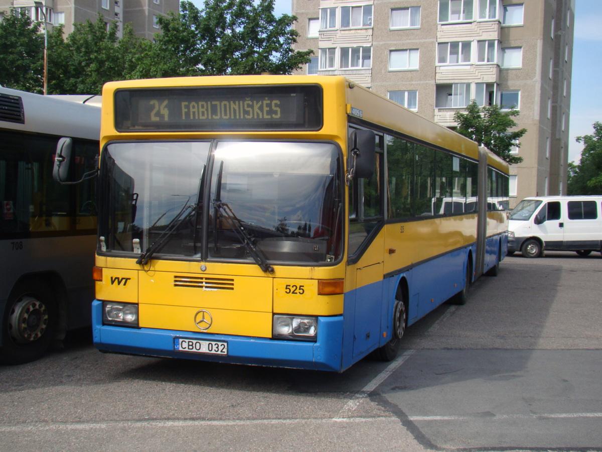 Вильнюс. Mercedes-Benz O405G CBO 032