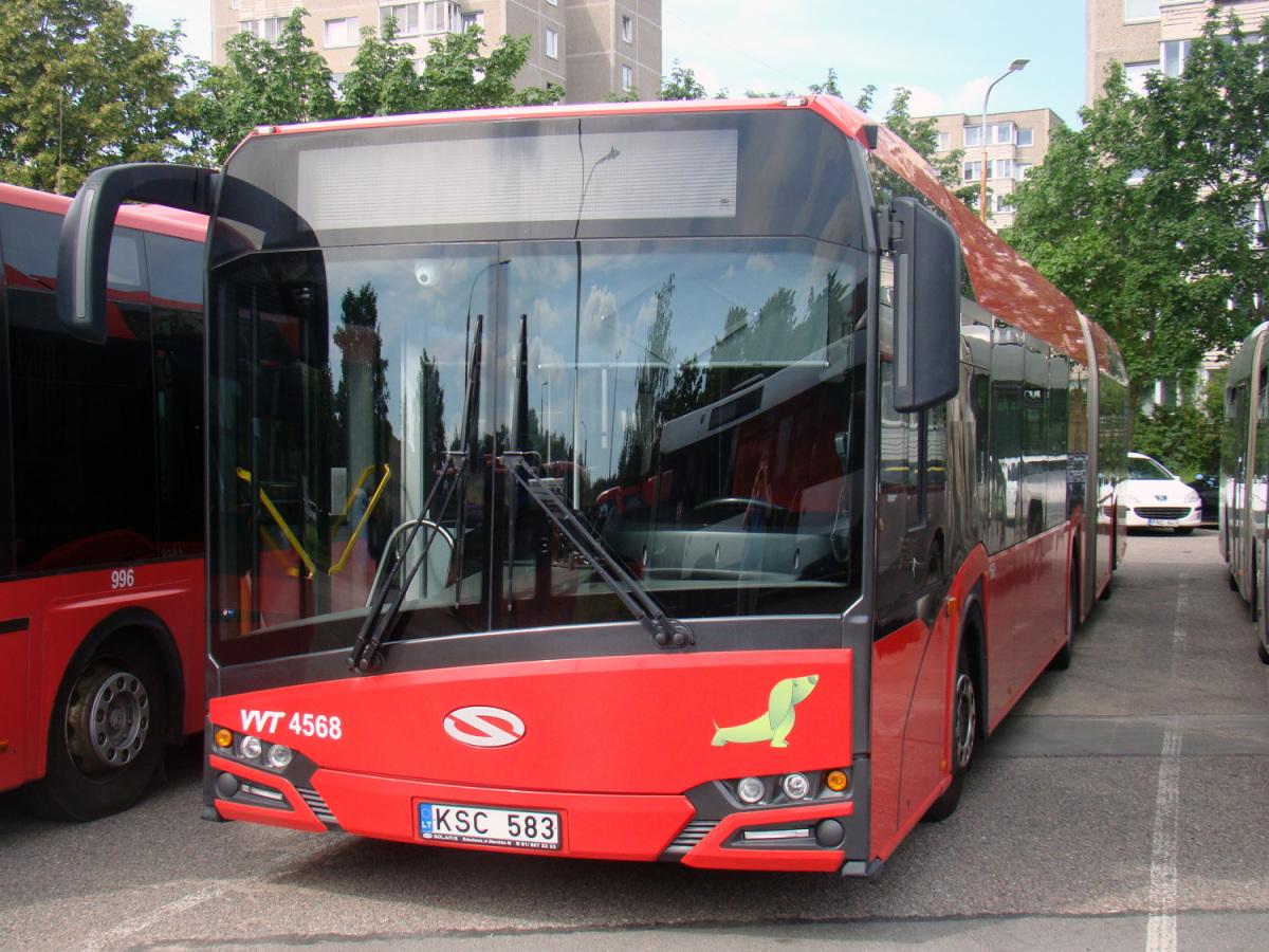 Вильнюс. Solaris Urbino IV 18 KSC 583