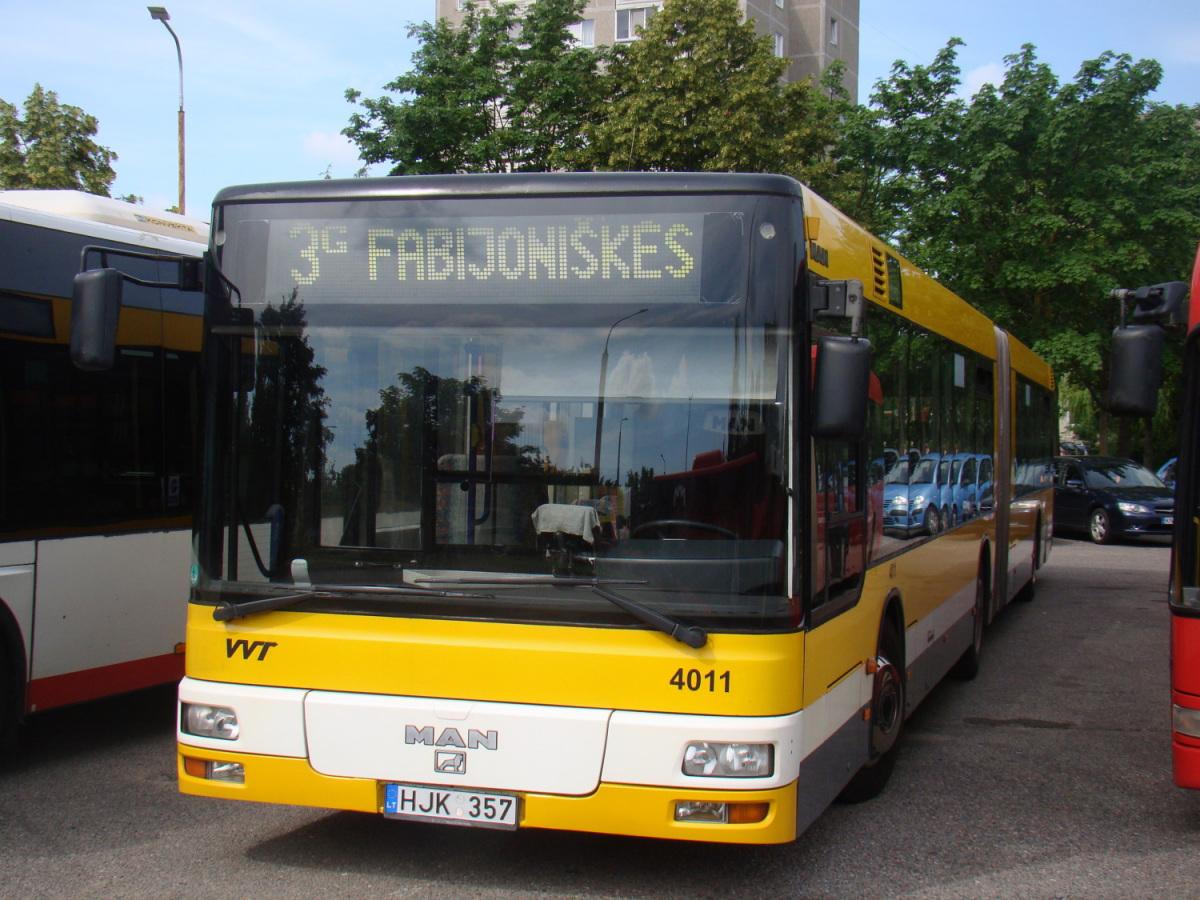 Вильнюс. MAN A23 NG313 HJK 357