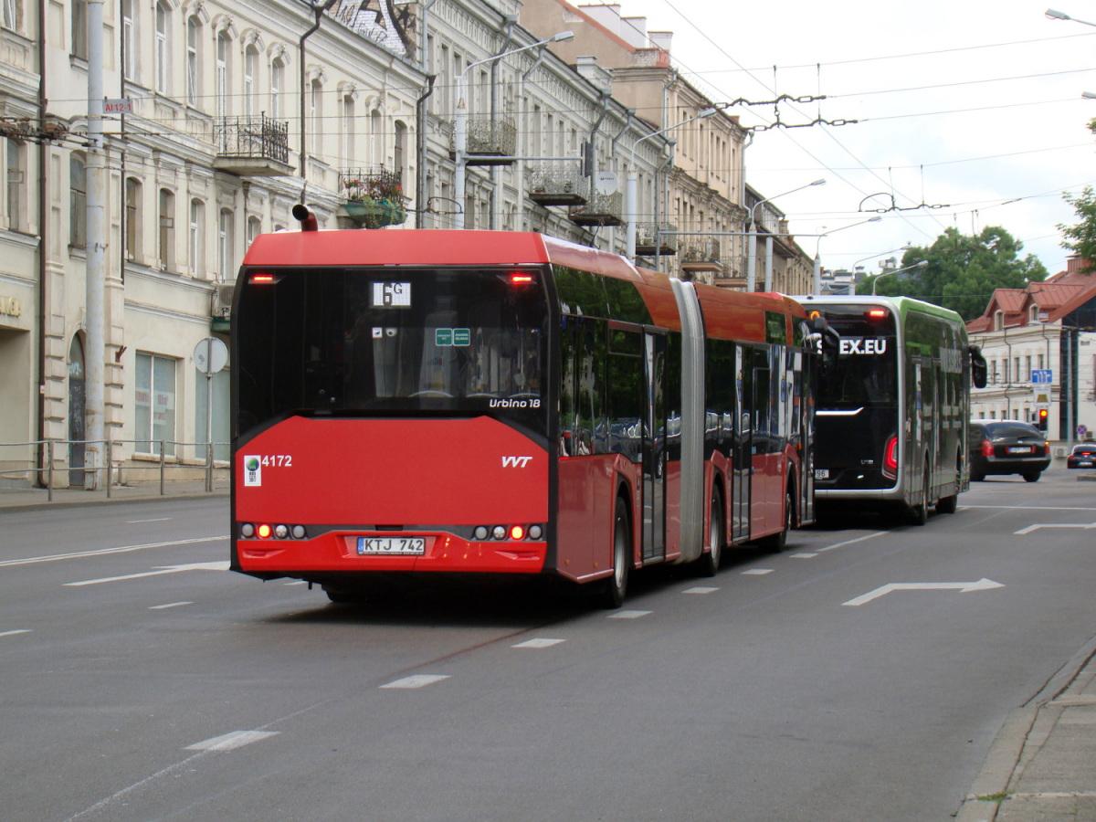 Вильнюс. Solaris Urbino IV 18 KTJ 742
