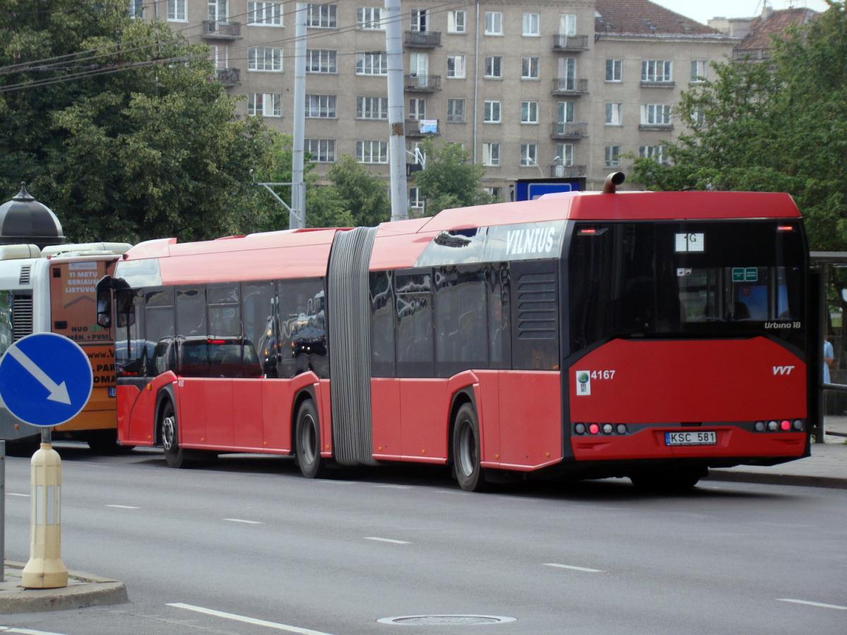 Вильнюс. Solaris Urbino IV 18 KSC 581