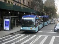 Нью-Йорк. Novabus LFS Artic BA4124